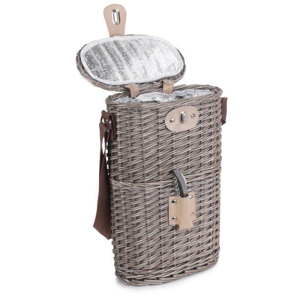 2 Bottle Chilled Carry Basket 1