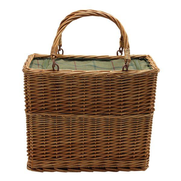 Green Tweed Cooler Basket 1