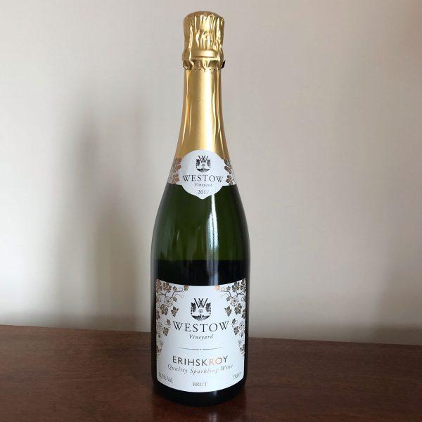 Westow Vineyard 2017 Erihskroy Sparkling White Wine 75cl.e 11.5% Vol  6 Bottles 1